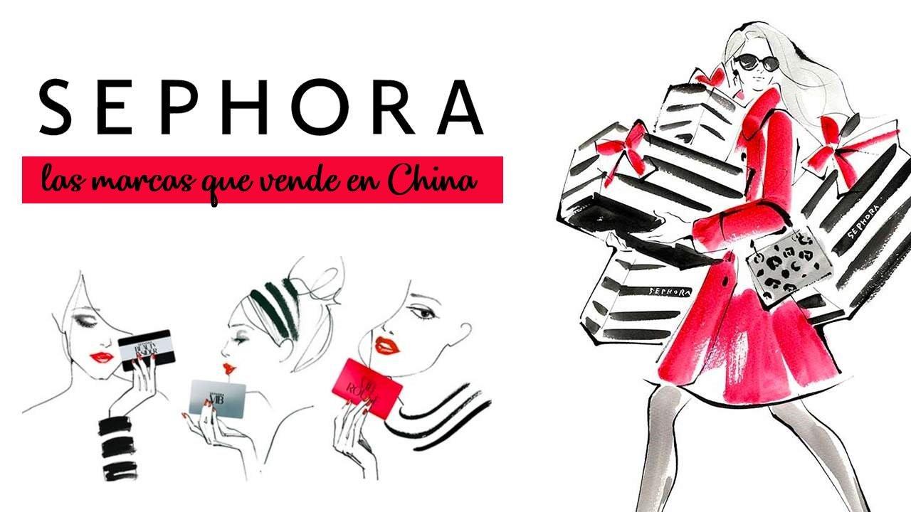 Las marcas que Sephora vende en China