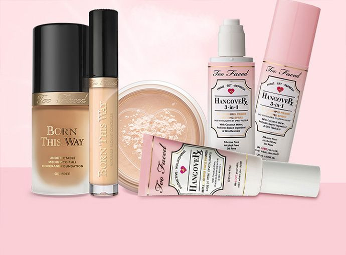 Lista de los productos veganos de Too Faced