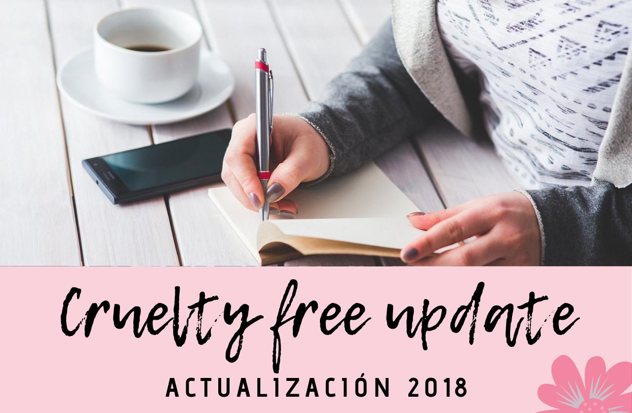 Actualización cruelty free Vol. 1 2018