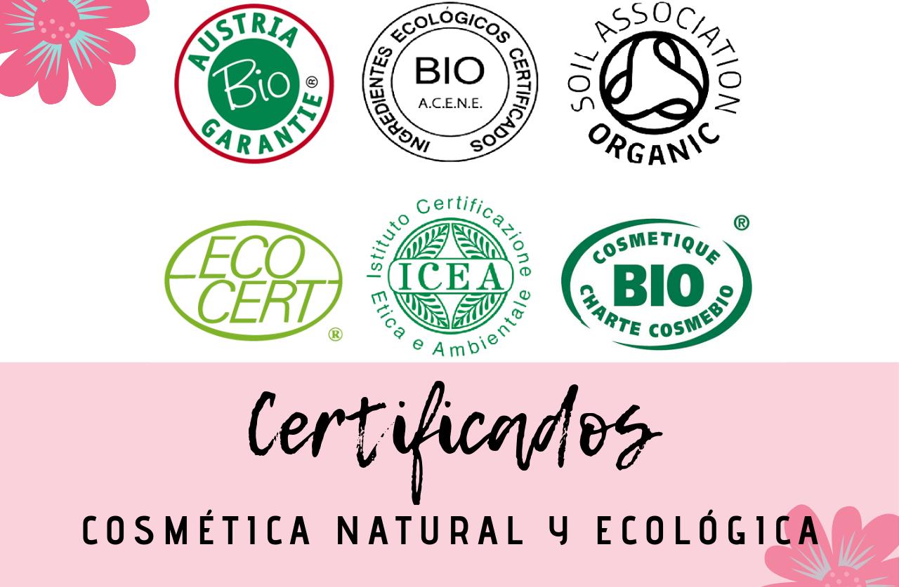 Guía sobre los certificados de cosmética natural y ecológica