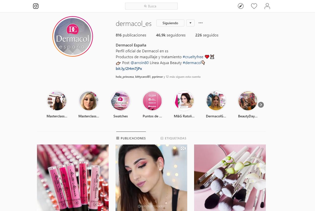 ¿Realmente Dermacol es cruelty free como anuncian en Instagram?