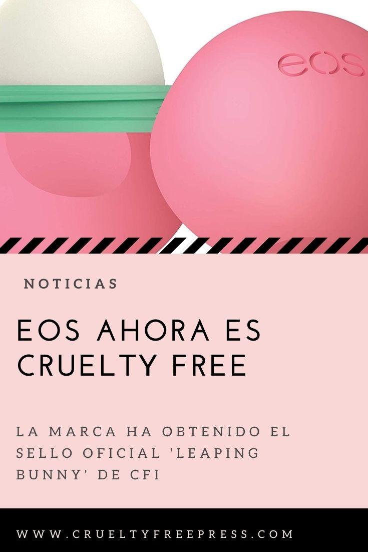 Ahora EOS es cruelty free