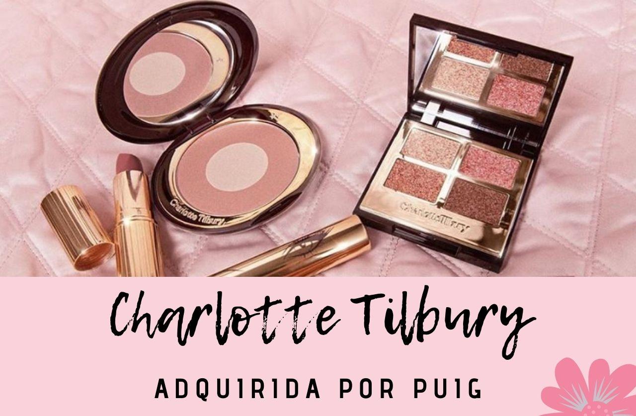 Puig compra la firma Charlotte Tilbury