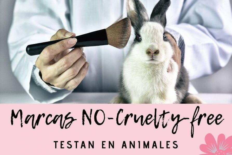 Marcas que todavía testan en animales