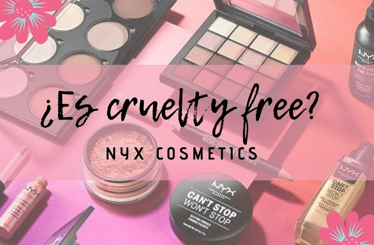 ¿Es NYX cruelty free o testa en animales?