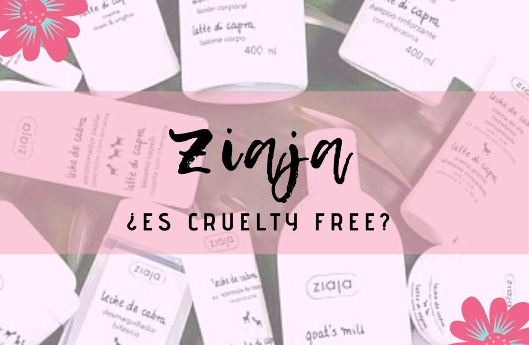 ¿Es Ziaja cruelty free?